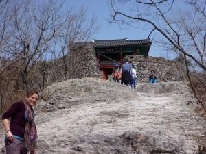 Tamara in front of Bogukum Gate