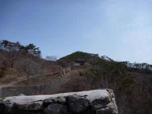 View up from Bogukum Gate