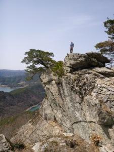 Blake on Nojeokbong Peak