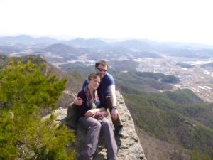 On top of Chealmabong Peak