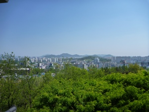 View over Gwangju
