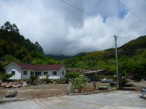 Shirubongyo (sp?) pension on the slopes of Jiri mountain