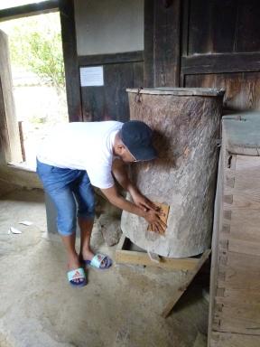 200 kg of rice storage.