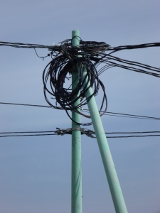 This is the wiring in the athletic park