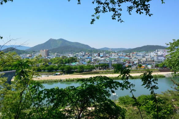 A view out over Namwon