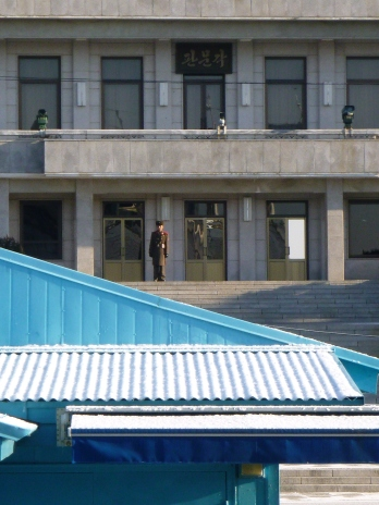 """Bob"" - the North Korean guard."