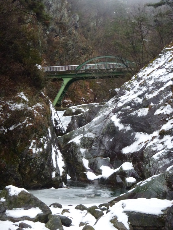 Darian Falls frozen up for the winter