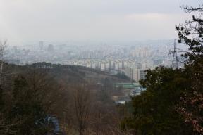 Overlooking Gwangju.