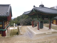 The big bell, and a little more of the temple grounds.