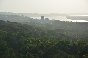 Sadly, the views of the other churches and the river were really hazy the day that we were there.