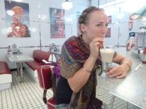 Milkshake and time warp break!
