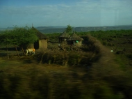 One of the small villages we passed on our way.