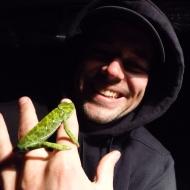 Chameleons are pretty cute.